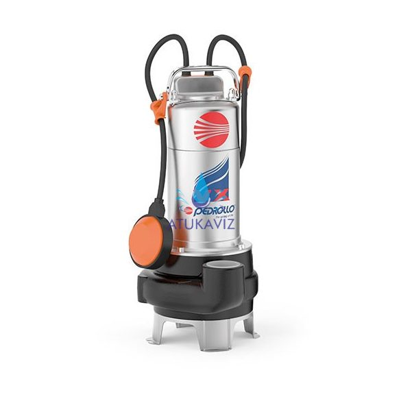 Pedrollo szennyvíz szivattyú VXm 10/50-N 220V úszókapcsolóval