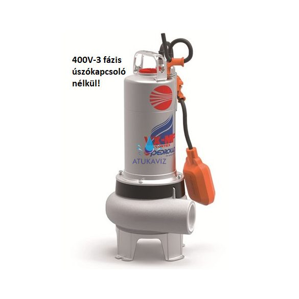 VX 8/50 - MF 400V szennyvíz szivattyú 450 liter/perc
