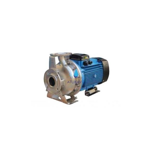 WTX 65-125/5,5 Rozsdamentes szivattyú 2000 liter 2,4 bar