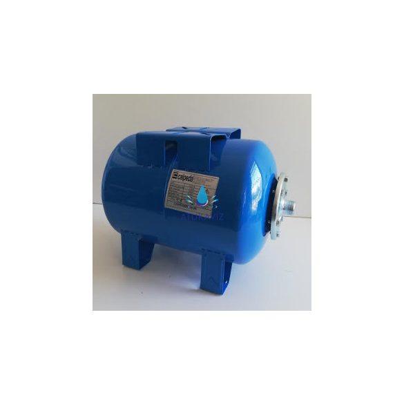 Calpeda hidrofor tartály 100 liter fekvő