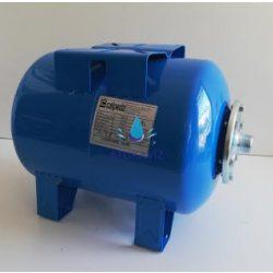 Calpeda hidrofor tartály 24 liter fekvő