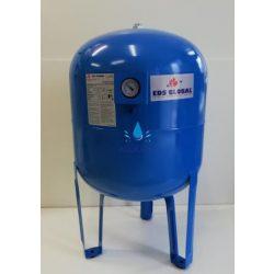 100 literes álló hidrofor tartály mérőórával