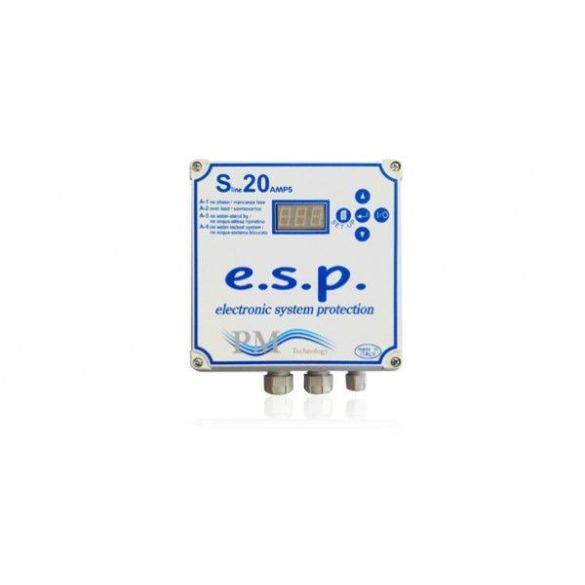 PM Tline 10 TRI Fázis és motorvédelem 3 fázisú szivattyúkhoz 3KW-ig