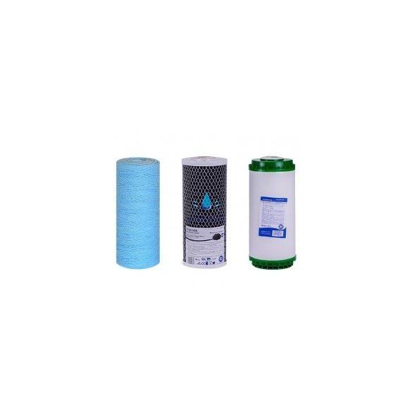 Szűrőkészlet antibakteriális közepes teljesítményű központi víztisztítóhoz